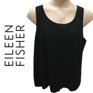 Eileen Fisher Size 1X Tank Top Solid Plus Wool